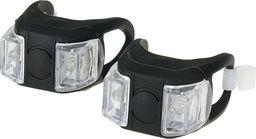 XC Light Zestaw lamp XC Light 1000F silikonowe, 2-Led,3 funkcje, czarne uniwersalny