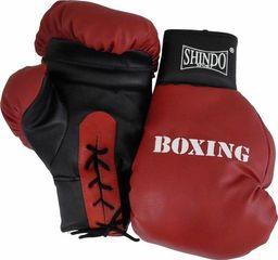 Shindo Sport Rękawice bokserskie wiązane RB 12 SHIN-DO uniwersalny