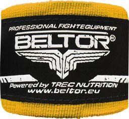 Beltor Beltor bandaż bokserski bawełniany żółty 4m