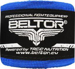Beltor Beltor bandaż bokserski bawełniany niebieski 4m