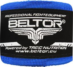Beltor Beltor bandaż bokserski bawełniany niebieski 3m