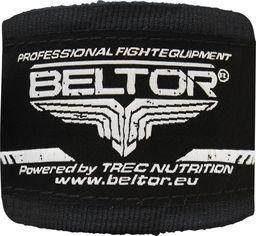 Beltor Beltor bandaż bokserski bawełniany czarny 4m