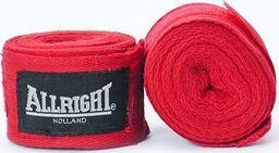 Bandaż bokserski Allright czerwony uniwersalny