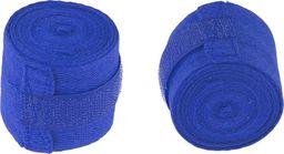 Bandaż bokserski HKBD 101 niebieski uniwersalny