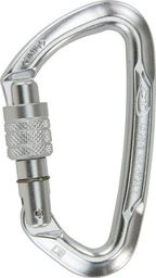 Climbing Technology Karabinek Climbing Technology Lime CF SG (Screw Lock) - silver uniwersalny
