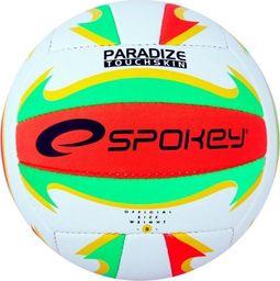 Spokey Piłka siatkowa Spokey Paradize czerwono/zielona/żółta/biała uniwersalny