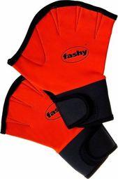 Fluent Fashy płetwy na dłoń neopren 4462 S pomarańcz S