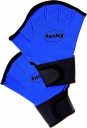 Fluent Fashy płetwy na dłoń neopren 4462 M niebieski M