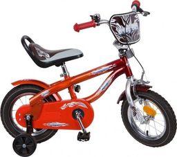 """Accent Rower dla dzieci Danny 12"""" bordowo-czerwony 9173-9175 uniwersalny"""