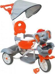 Alexis baby mix Rower trójkołowy UR-JG-870 słoń srebrny uniwersalny