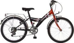 """Bingo Rower dla dzieci 20"""" Matadore 6-biegowy czerwony uniwersalny"""