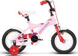 """Kross Rower dla dzieci Cindy 12"""" różowy-czerwony-fioletowy połysk 2017 uniwersalny"""