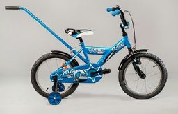 """Rock Rower dla dzieci Police  20"""" niebieski uniwersalny"""