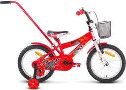 """Rock Rower dla dzieci Spark 16"""" czerwony  uniwersalny"""