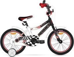 """Romet Rower dla dzieci Salto R 16"""" czarno-biały 2015 uniwersalny"""