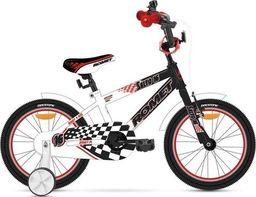 """Romet Rower dla dzieci Salto B 16"""" czarno-biały 2015 uniwersalny"""