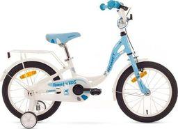 """Romet Rower dla dzieci Diana S 16"""" niebiesko-biały 2015 uniwersalny"""