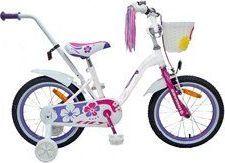 """Saveno Rower dla dzieci Lily 16"""" biały uniwersalny"""