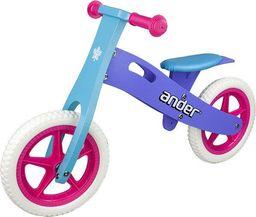 """VIVO Rowerek biegowy Ander V1.1 12"""" EVA violet-blue uniwersalny"""