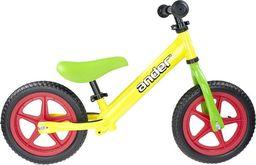 """VIVO Rowerek biegowy Ander V2.1 12"""" EVA yellow-green uniwersalny"""