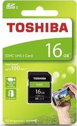 Karta MicroSD Toshiba N203 R100 16GB (THN-N203N0160E4)