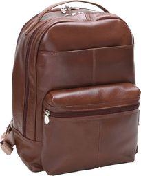 Plecak MCKLEIN Skórzany męski plecak na laptopa MCKLEIN Parker 88555 brązowy