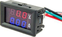 Amperomierz woltomierz 2 w 1 10A 100V DC uniwersalny