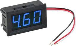 Woltomierz miernik napięcia blue LCD 0-30V uniwersalny