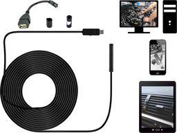 Acurel Endoskop wodoodporny kamera inspekcyjna 15m 7mm USB uniwersalny