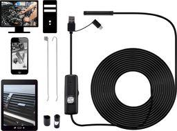 Acurel Endoskop wodoodporny kamera inspekcyjna 5m 7mm USB uniwersalny