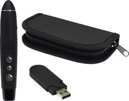 Acurel Prezenter USB wskaźnik laserowy czerwony uniwersalny