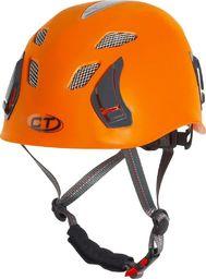 Climbing Technology Kask wspinaczkowy Climbing Technology Stark - pomarańczowy uniwersalny