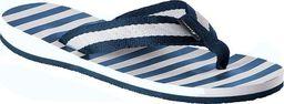 Fashy Fashy klapki-japonki 7770 54 niebiesko-białe 40