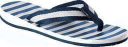 Fashy Fashy klapki-japonki 7770 54 niebiesko-białe 41