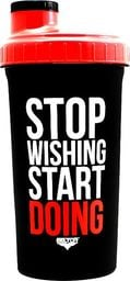 "Beltor Beltor Shaker 700ml black-red ""Stop wishing start doing"" uniwersalny"