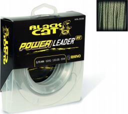 Black Cat Ø0,70mm Black Cat Power Leader 20m 50kg,110lbs (2342050)
