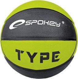 Spokey Piłka do koszykówki Spokey Type 82456 zielona uniwersalny