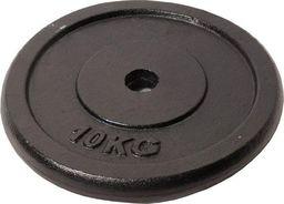 Sportia Obciążenie żeliwne czarne 10kg uniwersalny
