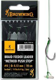 Browning #6 Przypon Method Push Stop # Plecionka