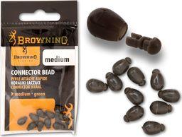 Browning Koraliki łączące zielone 10szt