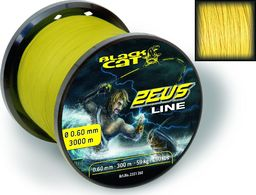 Black Cat Plecionka Zeus 0.45mm 400m 37kg 82lbs żółta