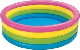 Intex Basen dmuchany Tęcza 4 pierścienie 168x46cm