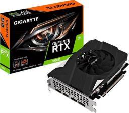 Karta graficzna Gigabyte GeForce RTX 2060 MINI ITX OC, 6G GDDR6 (GV-N2060IXOC-6GD 2.0)