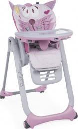 Chicco Krzesełko do karmienia Polly 2 Start Miss Pink