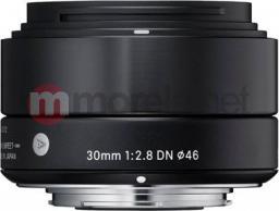 Obiektyw Sigma 2,8/30 DN black MFT (33B963)