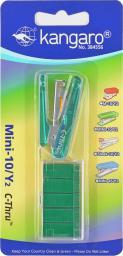 Zszywacz Kangaro Mini-10/Y2 C-Thru zielony