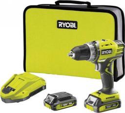 Wiertarko-wkrętarka Ryobi 14,4V +akumulator,ładowarka i torba (R14DDE-LL15S)