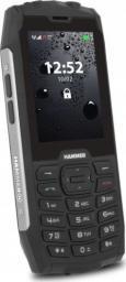 Telefon komórkowy myPhone Hammer 4 czarno-srebrny