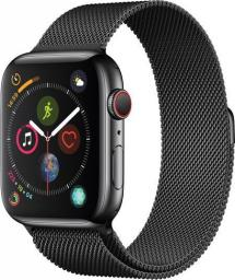 Smartwatch Apple Watch Series 4 LTE Czarny  (MTX32FD/A)