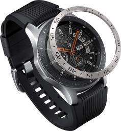Ringke Nakładka na tachymetr Samsung Galaxy Gear S3/Watch 46mm stal nierdzewna srebrna GW-46-01